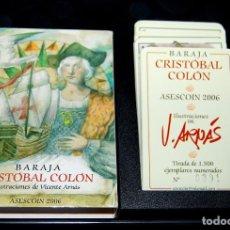 Barajas de cartas: VICENTE ARNÁS. BARAJA CRISTÓBAL COLÓN.. Lote 96771659