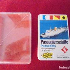 Barajas de cartas: BARAJA JUEGO CARTAS ALEMANAS BARCOS. Lote 96791979