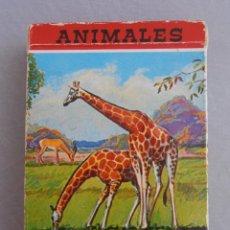 Barajas de cartas: BARAJA DE CARTAS FOUNIER, ANIMALES VERTEBRADOS, COMPLETA. Lote 96874575