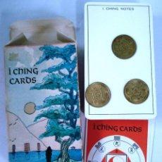 Barajas de cartas: BARAJA DE TAROT I CHING CARDS DECK, AGMULLER. ¡¡NUEVA!! IMPORTADA POR FOURNIER. AÑOS. Lote 96881539