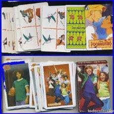 Barajas de cartas: POCAHONTAS 2 BARAJA CARTAS FOURNIER 1995 + HIGH SCHOOL MUSICAL . Lote 97002383
