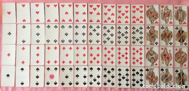 Barajas de cartas: BARAJA PÓKER. SIMEON DURA VALENCIA. 52 NAIPES. COMPLETA. TIMBRE 30 CÉNTIMOS. - Foto 5 - 97077023