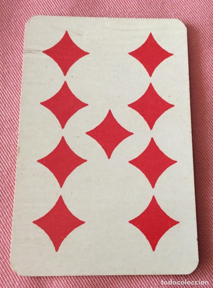 Barajas de cartas: BARAJA PÓKER. SIMEON DURA VALENCIA. 52 NAIPES. COMPLETA. TIMBRE 30 CÉNTIMOS. - Foto 9 - 97077023
