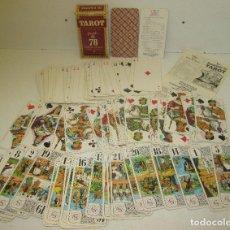 Barajas de cartas: BARAJA TAROT GRIMAUD DUCALE, DOS ECOSSAIS AXÉ, FRANCE 1976. Lote 97160743