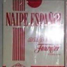 Barajas de cartas: BARAJA ESPAÑOLA FOURNIER - NUEVA CELOFAN - REVERSO -PP- PARTIDO POPULAR (H. FOURNIER) 40 CARTAS. Lote 97271835