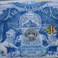 Barajas de cartas: BARAJA HERACLIO FOURNIER Nº 111 GIGANTE 40 CARTAS CON ESTUCHE. Lote 97347359