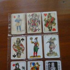 Barajas de cartas: FACSÍMILES DE CARTAS. Lote 97511699