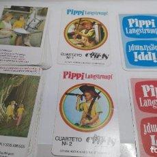 Barajas de cartas: ANTIGUA BARAJA INFANTIL COMAS PIPPI 2 BARAJAS . Lote 97580231