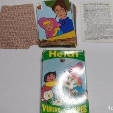 Barajas de cartas: ANTIGUA BARAJA INFANTIL HEIDI VUELVE A LOS ALPES. Lote 97591307