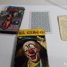 Barajas de cartas: ANTIGUA BARAJA INFANTIL EL CIRCO. Lote 97594527