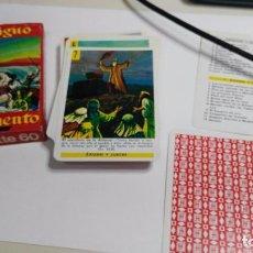 Barajas de cartas: ANTIGUA BARAJA INFANTIL ANTIGUO TESTAMENTO. Lote 97594743