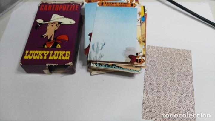 ANTIGUA BARAJA INFANTIL CARTOPUZZLE LUCKY LUKE (Juguetes y Juegos - Cartas y Naipes - Barajas Infantiles)