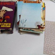 Barajas de cartas: ANTIGUA BARAJA INFANTIL CARTOPUZZLE LUCKY LUKE. Lote 97594935