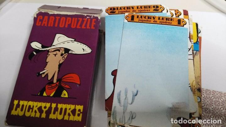 Barajas de cartas: antigua baraja infantil cartopuzzle lucky luke - Foto 2 - 97594935
