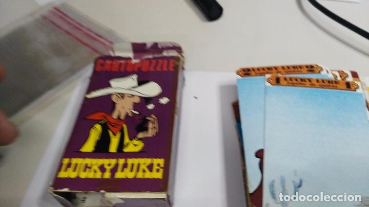 Barajas de cartas: antigua baraja infantil cartopuzzle lucky luke - Foto 3 - 97594935