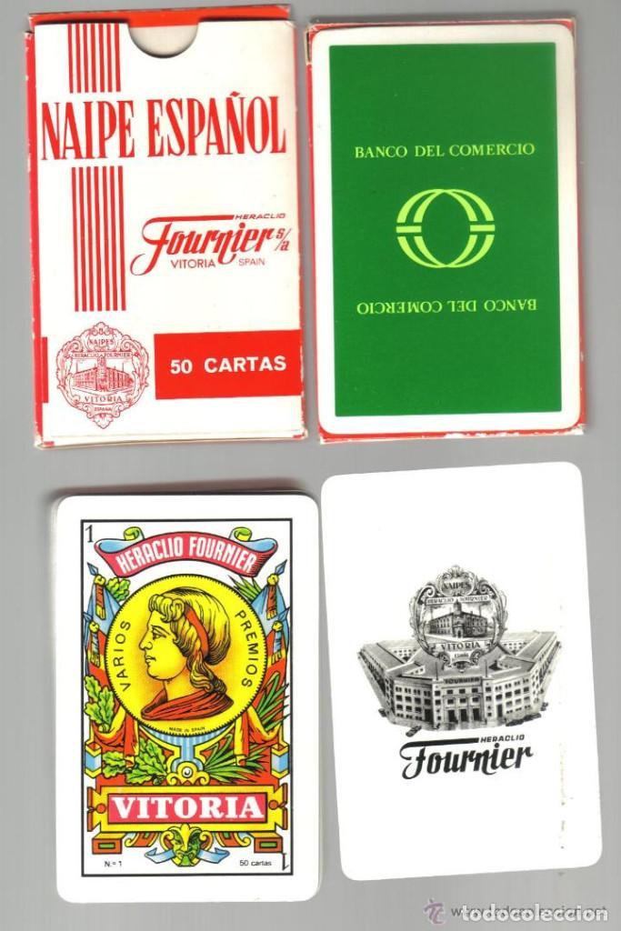 BARAJA ESPAÑOLA PUBLICIDAD DEL DESAPARECIDO BANCO DEL COMERCIO (Juguetes y Juegos - Cartas y Naipes - Baraja Española)