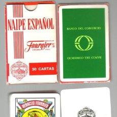 Barajas de cartas: BARAJA ESPAÑOLA PUBLICIDAD DEL DESAPARECIDO BANCO DEL COMERCIO . Lote 97690807
