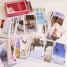 Barajas de cartas: RARA BARAJA DE CARTAS - CON FOTOS - NAIPES - JUEGO JUGUETE - NUEVO - OTRAS BARAJAS EN VENTA. Lote 97759508