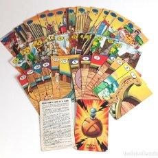 Barajas de cartas: BARAJA DE 41 CARTAS EL JUEGO DE LA CIZAÑA . ASTERIX. EDICIONES RECREATIVAS. 1972.. Lote 97934023