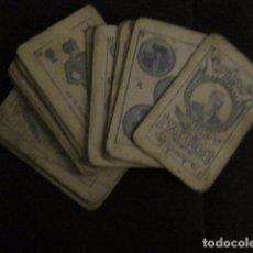 Barajas de cartas: BARAJA INCOMPLETA TOROS PREGUNTAS Y RESP -VALLADOLID 1909-CELESTINO GONZALEZ-VER FOTOS-(V-11.981). Lote 97951063