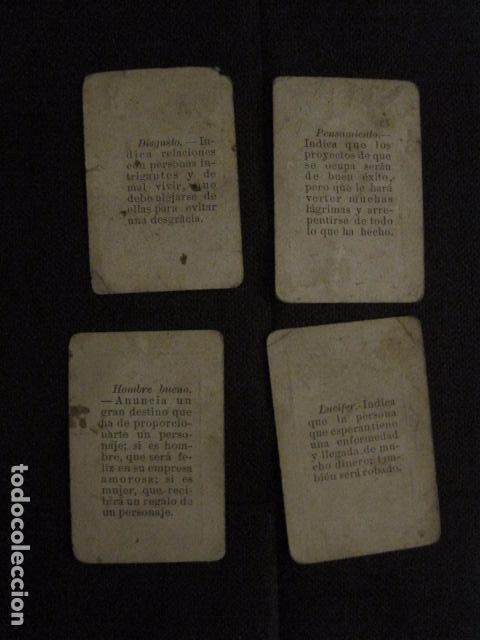 Barajas de cartas: BARAJA INCOMPLETA TOROS PREGUNTAS Y RESP -VALLADOLID 1909-CELESTINO GONZALEZ-VER FOTOS-(V-11.981) - Foto 6 - 97951063
