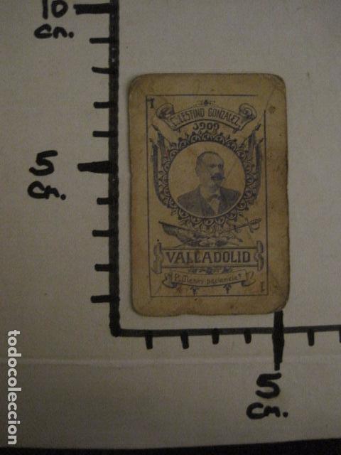 Barajas de cartas: BARAJA INCOMPLETA TOROS PREGUNTAS Y RESP -VALLADOLID 1909-CELESTINO GONZALEZ-VER FOTOS-(V-11.981) - Foto 11 - 97951063