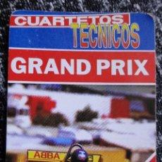 Mazzi di carte: BARAJA DE NAIPES HERACLIO FOURNIER. CUARTETOS TÉCNICOS. GRAND PRIX. 33 CARTAS.. Lote 97965431