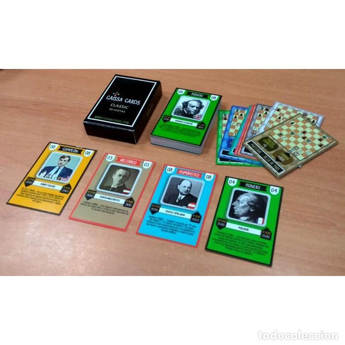 AJEDREZ. CHESS. CARTAS. CAISSA CARDS VERSIÓN CLASSIC (Juguetes y Juegos - Cartas y Naipes - Otras Barajas)