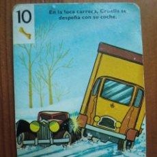 Barajas de cartas: CARTA DE LA BARAJA 101 DÁLMATAS (1975) DE HERACLIO FOURNIER. Lote 98231403