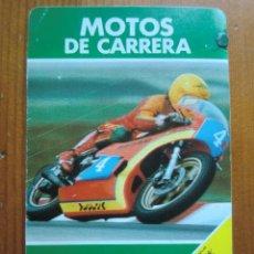 Barajas de cartas: CARTA DE INSTRUCCIONES BARAJA MOTOS DE CARRERA (1980) DE HERACLIO FOURNIER. Lote 164126710