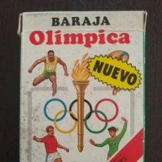 Barajas de cartas: BARAJA OLÍMPICA / JUEGO INFANTIL / FOURNIER / COMPLETO. Lote 98477706