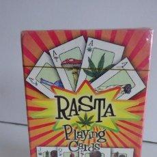 Barajas de cartas: BARAJA PÓKER DE 54 CARTAS RASTA PLAYING - AÑO 2002. Lote 98582675