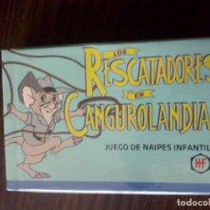 Barajas de cartas: BARAJA DE CARTAS LOS RESCATADORES EN CANGUROLANDIA HERACLIO FOURNIER DISNEY. Lote 98615123