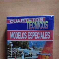 Barajas de cartas: BARAJA CARTAS FOURNIER CUARTETOS TECNICOS MODELOS ESPECIALES PRECINTADAS. Lote 98621811