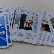 Barajas de cartas: BARAJA DE CARTAS DE MOTOS O LANCHAS ACUATICAS HAY 32 CARTAS TAL CUAL SIN ESTUCHE. Lote 138973464