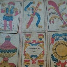 Barajas de cartas - Baraja española antigua,grimaud París, muy antigua,completa,pp siglo XX - 98658608