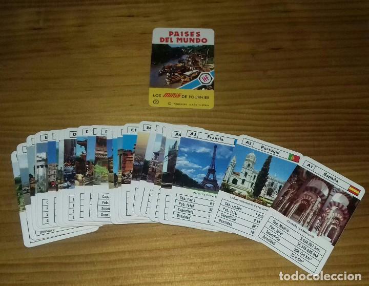 Barajas de cartas: Mini baraja de cartas Países del Mundo - Foto 2 - 110413075