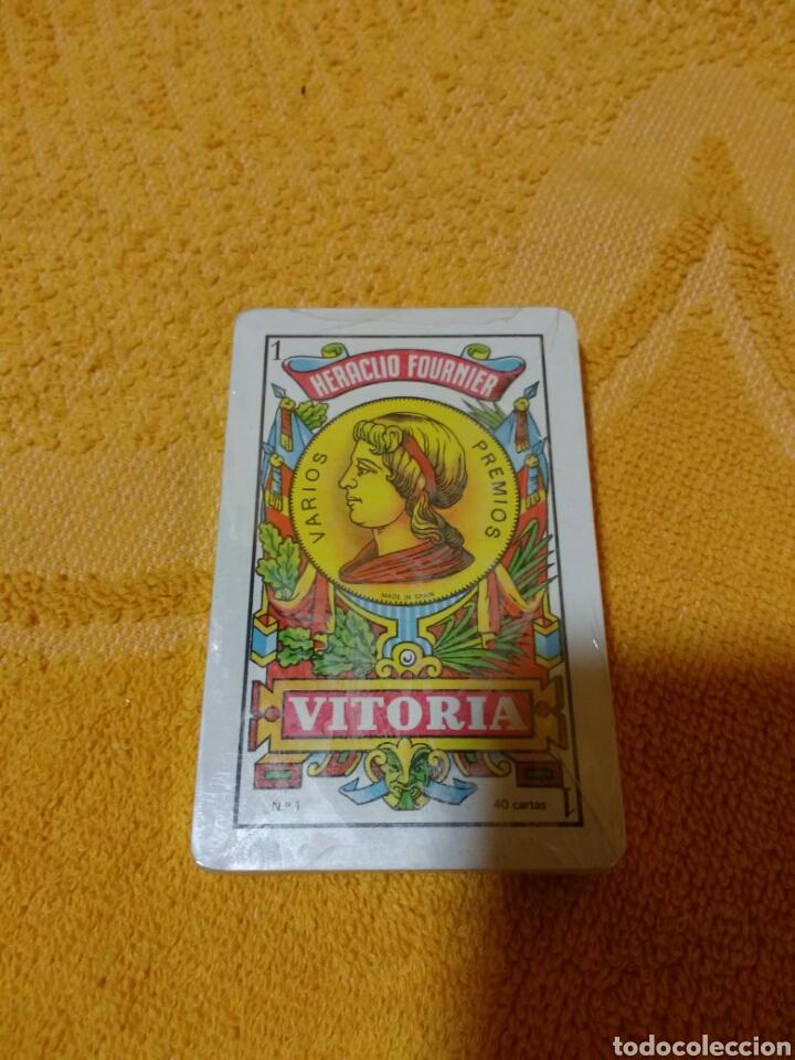 Barajas de cartas: Baraja - cartas publicidad Bp. Precintadas - Foto 2 - 98849262
