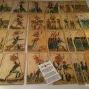 Barajas de cartas: BARAJA DE LAS BANDERAS - FRANCIA, SIGLO XIX 1814 - NUEVA - CERTIFICADO COLECCION FOURNIER. Lote 98877931