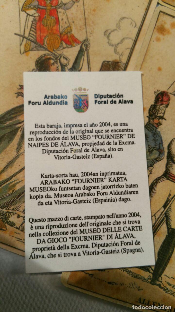 Barajas de cartas: BARAJA DE LAS BANDERAS - FRANCIA, SIGLO XIX 1814 - NUEVA - CERTIFICADO COLECCION FOURNIER - Foto 7 - 98877931