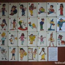 Barajas de cartas: BARAJA DE CARTAS INFANTIL ERASE UNA VEZ... LAS AMÉRICAS (1992) DE HERACLIO FOURNIER. PROCIDIS. Lote 27443236