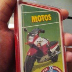 Baralhos de cartas: BARAJA DE CARTAS MOTOS COMPLETA CAJA PLASTICO. Lote 99185567