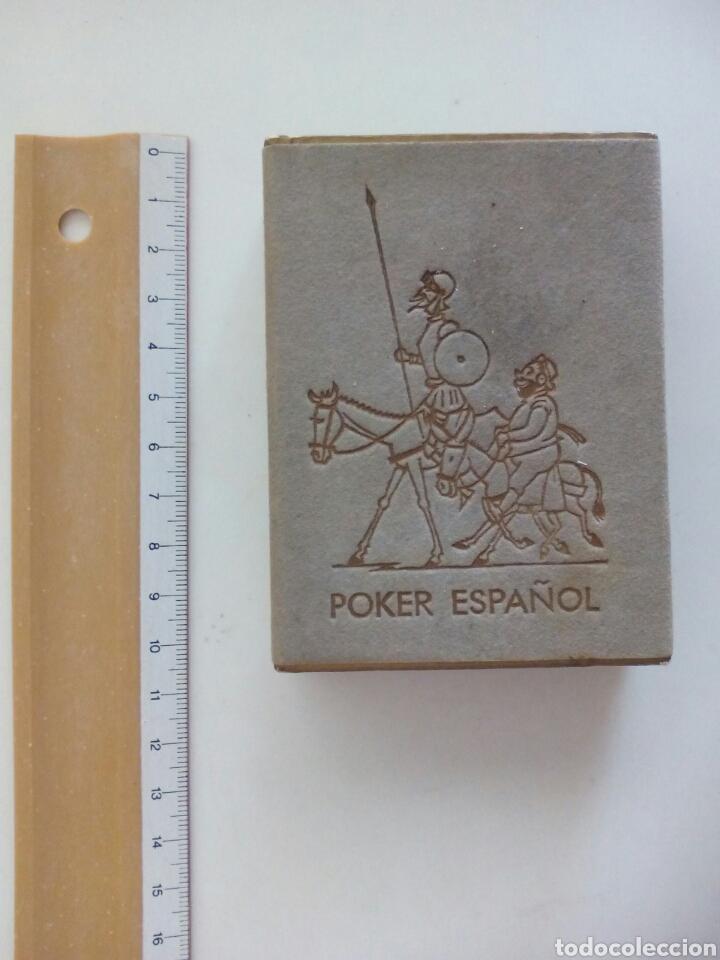 BARAJA PÓKER ESPAÑOL FOURNIER EL QUIJOTE DE LA MANCHA 1964 (Juguetes y Juegos - Cartas y Naipes - Barajas de Póker)
