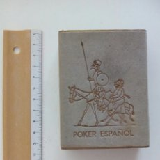 Baralhos de cartas: BARAJA PÓKER ESPAÑOL FOURNIER EL QUIJOTE DE LA MANCHA 1964. Lote 99290299