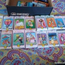 Barajas de cartas: LOTE DE 20 BARAJAS O JUEGOS DE CARTAS INFANTILES, DE CUENTOS CLÁSICOS, DE NAIPES COMAS. Lote 99340815