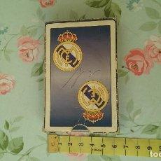 Barajas de cartas: BARAJA DE CARTAS DEL REAL MADRID. Lote 99384439