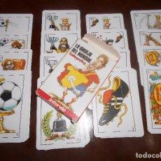 Barajas de cartas: BARAJA CARTAS MUNDIAL FUTBOL ESPAÑA 1982. Lote 99564799