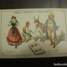 Barajas de cartas: BARAJA CHOCOLATES EL BARCO GRANDE - 4 DE OROS - CROMO SUELTO - VER FOTOS - (V-12.094). Lote 99647015