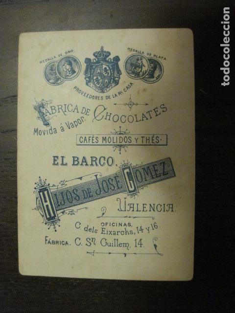 Barajas de cartas: BARAJA CHOCOLATES EL BARCO GRANDE - 5 DE BASTOS - CROMO SUELTO - VER FOTOS - (V-12.111) - Foto 2 - 99647415