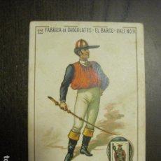 Barajas de cartas: BARAJA CHOCOLATES EL BARCO GRANDE - 12 DE BASTOS - CROMO SUELTO - VER FOTOS - (V-12.116). Lote 99647531